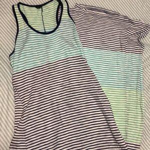 Multi color stripes maxi!